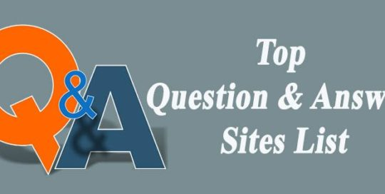 top-question-and-answer-sites